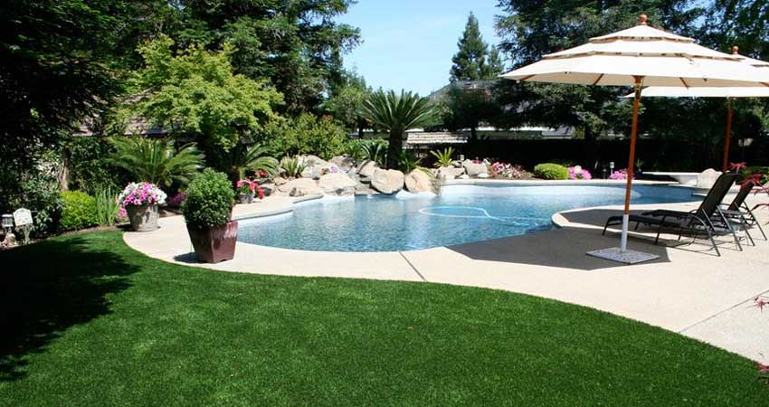 Arizona Artificial Grass Backyard