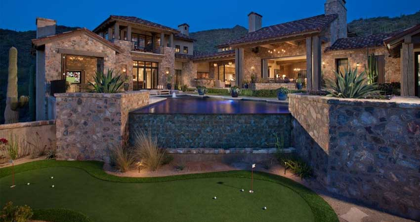 Backyard Putting Greens Arizona