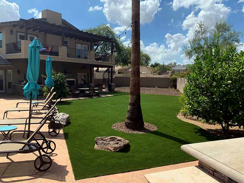 Artificial Grass Fountain Hills Installation