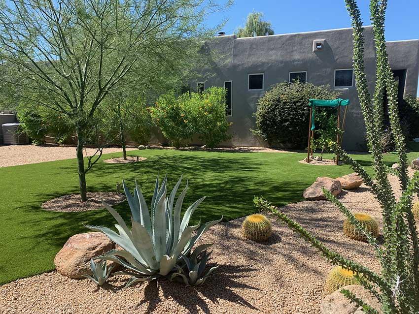 Scottsdale Artificial Grass Installation