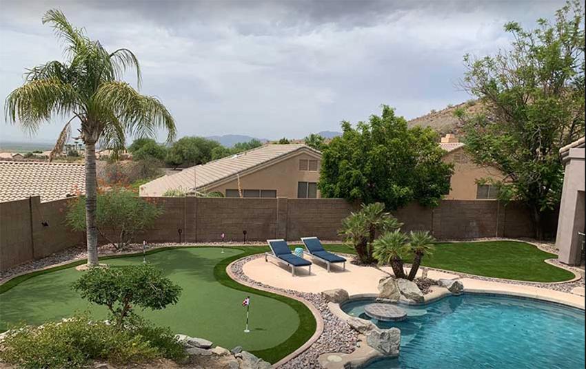 Putting Green Installation Phoenix Arizona